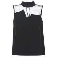 Textil Ženy Halenky / Blůzy Guess SL MAYA TOP Černá
