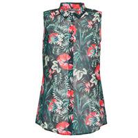 Textil Ženy Halenky / Blůzy Guess SL CLOUIS SHIRT Černá / Zelená / Červená