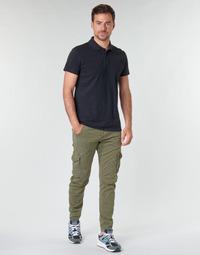 Textil Muži Cargo trousers  Le Temps des Cerises ALBAN Khaki