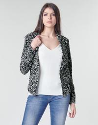 Textil Ženy Saka / Blejzry Le Temps des Cerises OPAL Černá