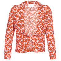 Textil Ženy Saka / Blejzry Le Temps des Cerises KARMA Červená