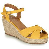 Boty Ženy Sandály Tom Tailor 8090105 Žlutá