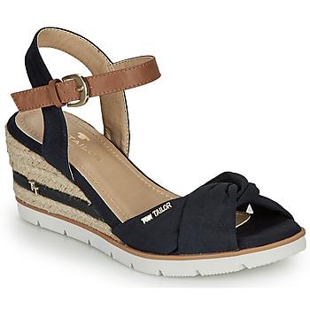 Boty Ženy Sandály Tom Tailor 8090403 Tmavě modrá