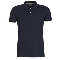 Textil Muži Polo s krátkými rukávy Esprit OCS PIQUE POLO SS Tmavě modrá