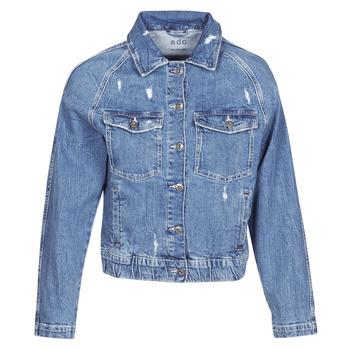 Textil Ženy Riflové bundy Esprit ESPRILA Modrá