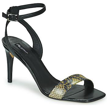Boty Ženy Sandály Tosca Blu LA-DIGUE Černá / Žlutá