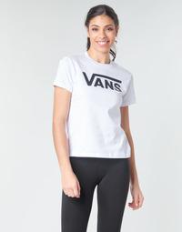 Textil Ženy Trička s dlouhými rukávy Vans FLYING V CREW TEE Bílá