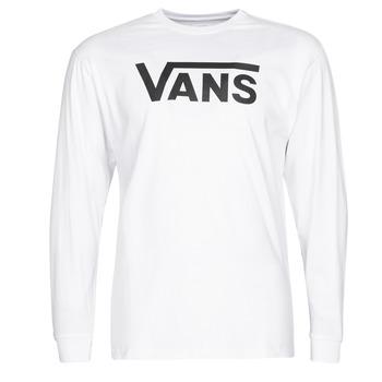 Textil Muži Trička s dlouhými rukávy Vans VANS CLASSIC Bílá