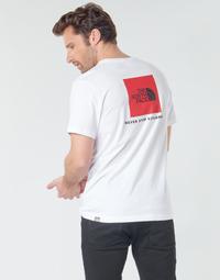 Textil Muži Trička s krátkým rukávem The North Face S/S REDBOX Bílá