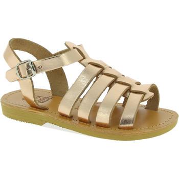 Boty Dívčí Sandály Attica Sandals PERSEPHONE CALF GOLD-PINK oro