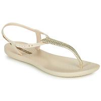 Boty Ženy Sandály Ipanema CLASS GLAM III Béžová / Zlatá