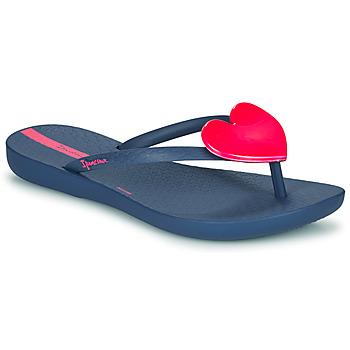 Boty Dívčí Žabky Ipanema MAXI FASHION Modrá / Růžová