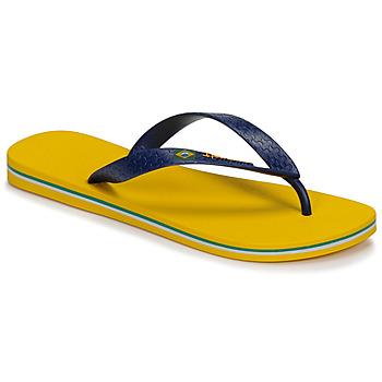 Boty Muži Žabky Ipanema CLAS BRASIL II Žlutá / Modrá