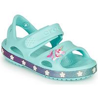 Boty Dívčí Sandály Crocs FUNLAB UNICORN SANDAL Modrá
