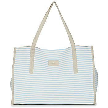 Taška Ženy Velké kabelky / Nákupní tašky Banana Moon ZENON WELINGTON Bílá / Modrá