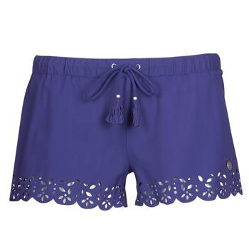 Textil Ženy Kraťasy / Bermudy Banana Moon MEOW Tmavě modrá