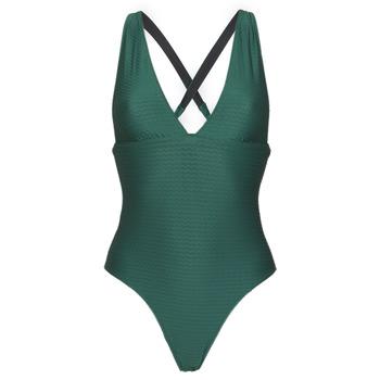 Textil Ženy jednodílné plavky Banana Moon ODALIS ROMEO Zelená