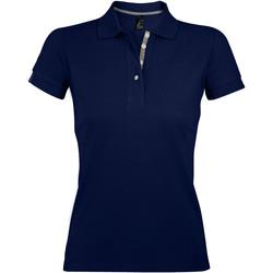 Textil Ženy Polo s krátkými rukávy Sols PORTLAND MODERN SPORT Azul