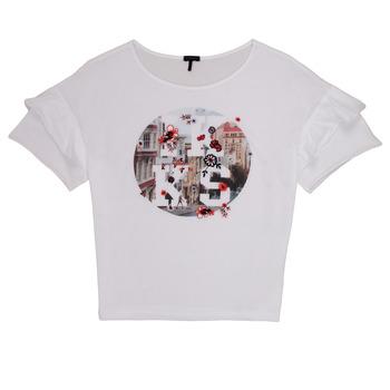 Textil Dívčí Trička s krátkým rukávem Ikks DIBILIOU Bílá