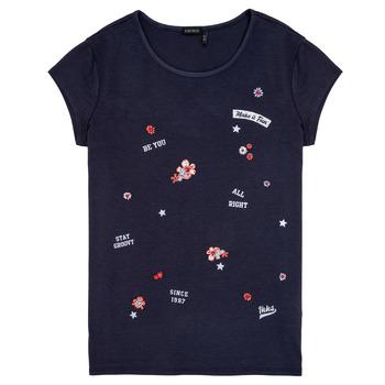 Textil Dívčí Trička s krátkým rukávem Ikks POSTALE Tmavě modrá