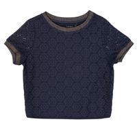 Textil Dívčí Halenky / Blůzy Ikks CLOTHILDE Tmavě modrá