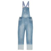 Textil Dívčí Overaly / Kalhoty s laclem Ikks PERRINE Modrá