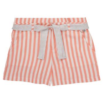Textil Dívčí Kraťasy / Bermudy Ikks BADISSIO Oranžová