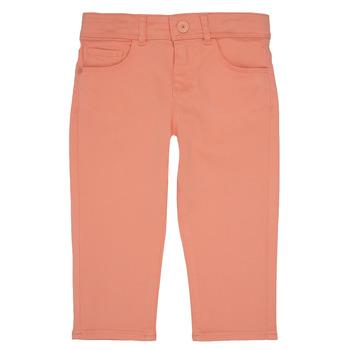 Textil Dívčí Kapsáčové kalhoty Ikks CARLOTTA Oranžová