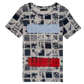 Textil Chlapecké Trička s krátkým rukávem Ikks YVES Béžová