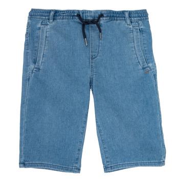 Textil Chlapecké Kraťasy / Bermudy Ikks PAGALI Modrá