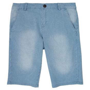Textil Chlapecké Kraťasy / Bermudy Ikks POTALIE Modrá