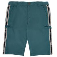 Textil Chlapecké Kraťasy / Bermudy Ikks MANUELA Modrá / Zelená