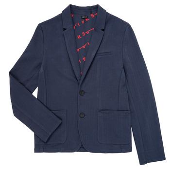 Textil Chlapecké Saka / Blejzry Ikks NARIA Tmavě modrá