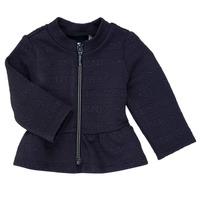 Textil Dívčí Svetry / Svetry se zapínáním Ikks ANE Tmavě modrá