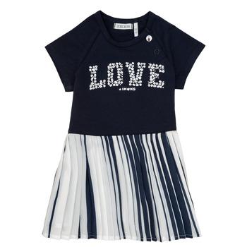 Textil Dívčí Krátké šaty Ikks POELA Tmavě modrá