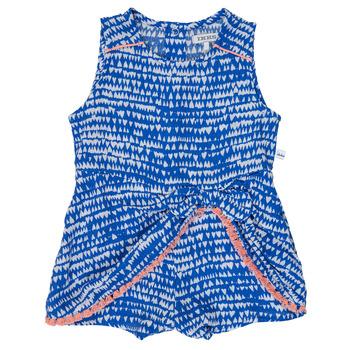 Textil Dívčí Overaly / Kalhoty s laclem Ikks BEO Modrá