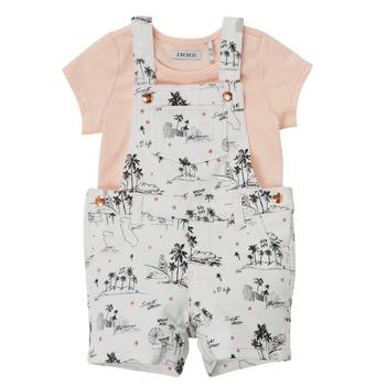 Textil Dívčí Overaly / Kalhoty s laclem Ikks BARTA