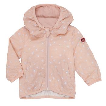 Textil Dívčí Bundy Ikks LOLINA Růžová