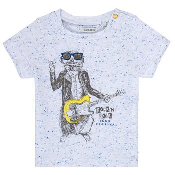 Textil Chlapecké Trička s krátkým rukávem Ikks MARIO Bílá
