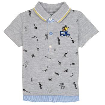 Textil Chlapecké Polo s krátkými rukávy Ikks MAELYS Šedá