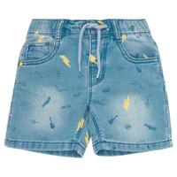 Textil Chlapecké Kraťasy / Bermudy Ikks PONERMO Modrá