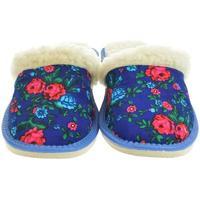 Boty Ženy Papuče John-C Dámske modré papuče ELIA 2