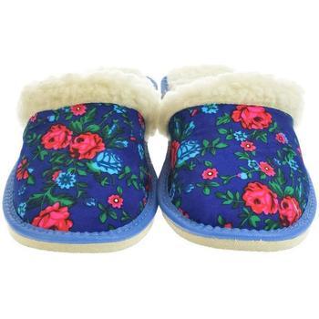 Boty Ženy Papuče John-C Dámske modré papuče ELIA 2 modrá