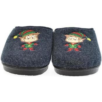 Boty Ženy Papuče Mjartan Dámske papuče  LIVA 3 tmavomodrá