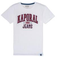 Textil Chlapecké Trička s krátkým rukávem Kaporal ERNIE Bílá