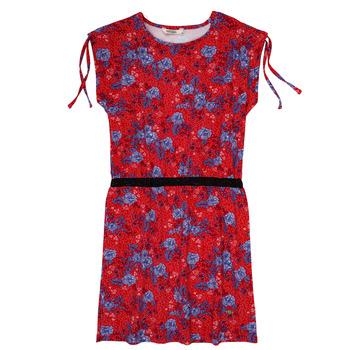 Textil Dívčí Krátké šaty Kaporal JUNE Červená