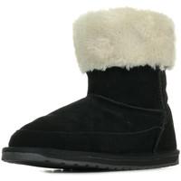 Boty Dívčí Zimní boty EMU Ardle Černá