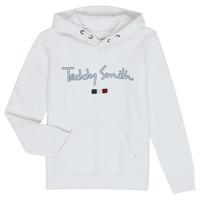 Textil Chlapecké Mikiny Teddy Smith SEVEN Bílá