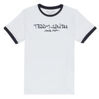 Textil Chlapecké Trička s krátkým rukávem Teddy Smith TICLASS 3 Bílá