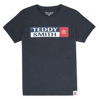 Textil Chlapecké Trička s krátkým rukávem Teddy Smith TOZO Tmavě modrá